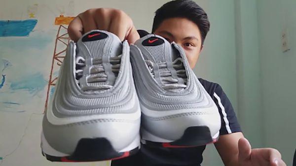Cách thắt dây giày Air Max 97 đơn giản mà cá tính